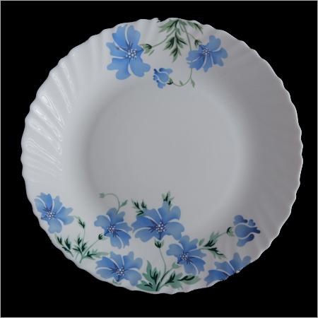 Round Opalglass Plates