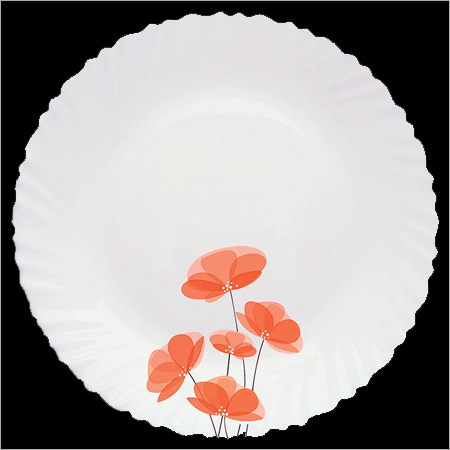 Round Opalglass Dinner Plates