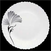 Floral Design Opalglass Plates