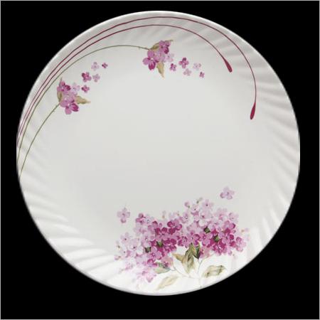 Round Melamine Oriole Plate