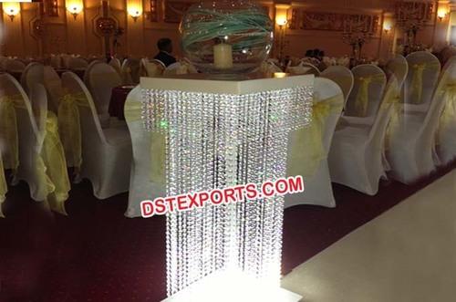 Wedding Walkway Crystal Columns/ Pillars
