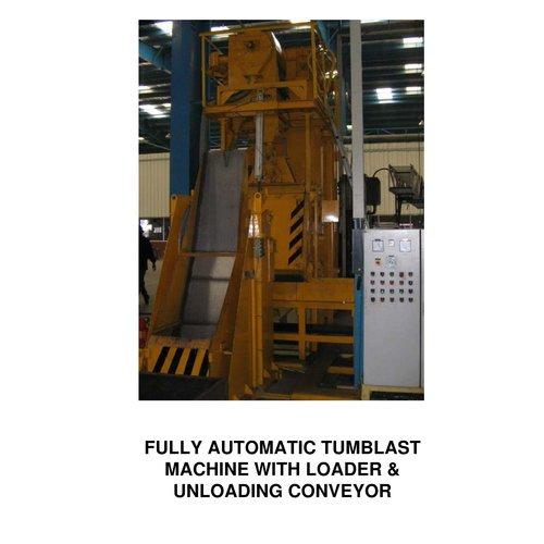 Auto Loading Tumblast Machine