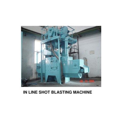 In Line Shot Blasting Machine