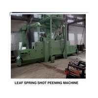 Leaf Spring Shot Peening Machine