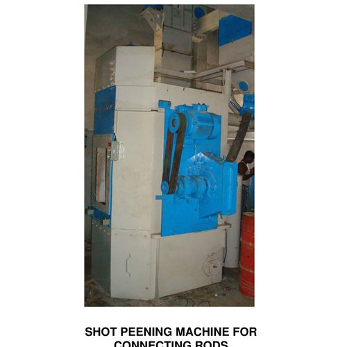 Connecting Rods Shot Peening Machine