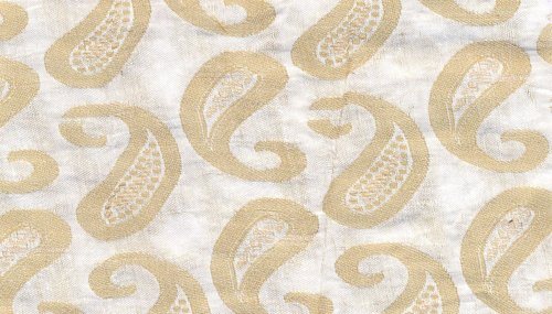 Chanderi Gold Jacquard Fabrics