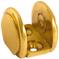 Brass Round Brackets