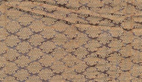 Colored Jute Brocade Jacquard Fabrics