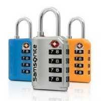 Samsonite 4 Dial Combi Lock