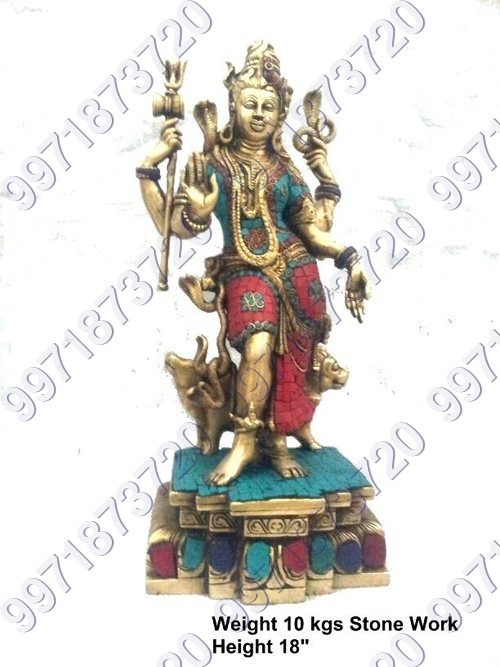 Stone worked Lord Shiva