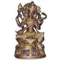 Metallic Brass Statue