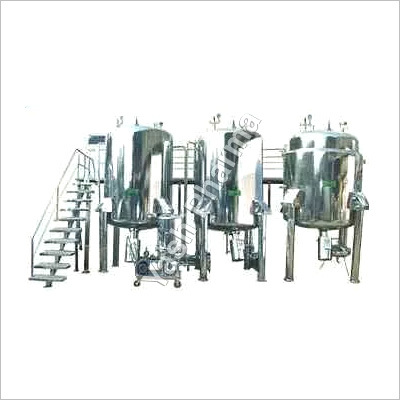 Fully Automatic Liquid Manufacturing Plant
