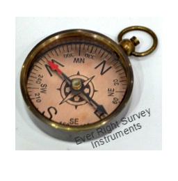 Copper dial compass