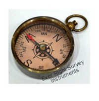 Copper dial compass