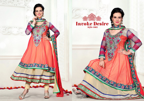 Double Ghara Anarkali Dress
