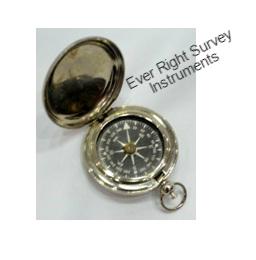 Push Button Nikel Compass