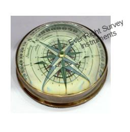 Condenser lens compass