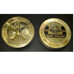 Boot Polish Sundial