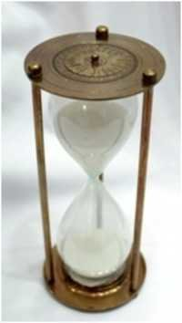 Sand Timer with calender