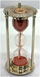 Timer nickel finish embose