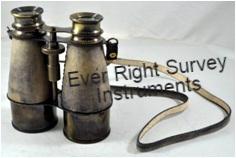 Binocular Antique Leather Overlay