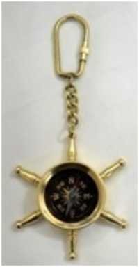 Sheet Compass Keychain