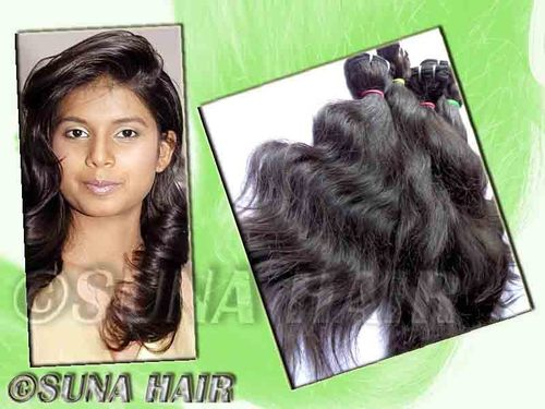 100% persant virgin indian body wavy good quality hair extension