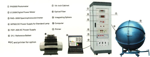 Photometric & Calorimetric Test Equipments
