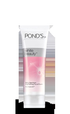 Ponds White Beauty Spot-less Lightening Facial Foam