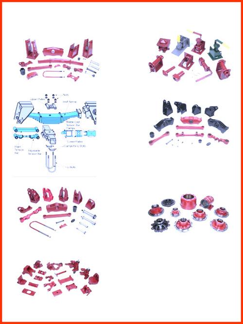 Truck Axle & Suspension Parts