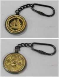 Brass Calender Keycahin