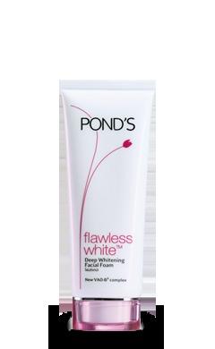 Ponds Flawless White Deep Whitening Facial Foam