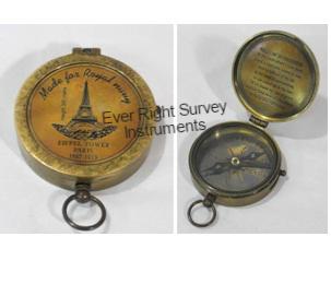 Flat Compass Eiffel Tower 2.5