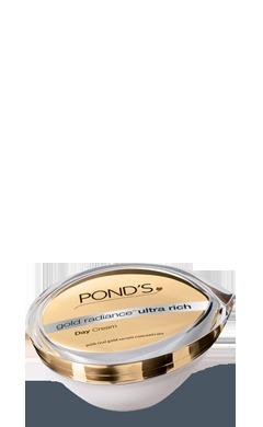 Ponds Gold Radiance Ultra Rich Day Cream