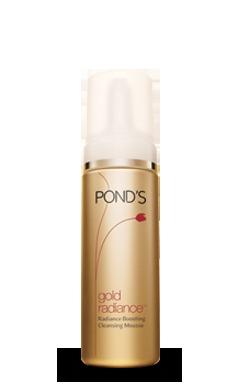 Ponds Gold Radiance Radiance Boosting Cleansing Mousse