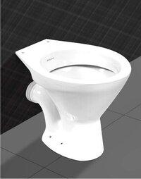 EWC P Type Water Closet
