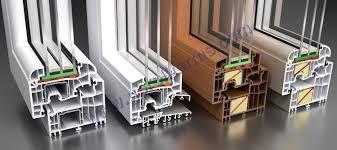 UPVC Door Window Section