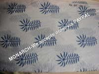 BLUE LEAF COTTON FABRIC
