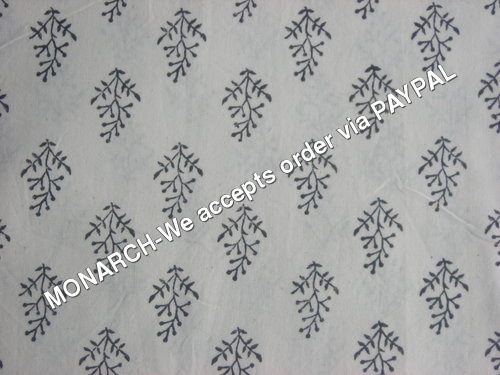 DARK LEAF BUTTY COTTON FABRIC
