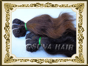 5A machine weft wavy high quality cheap price human hair