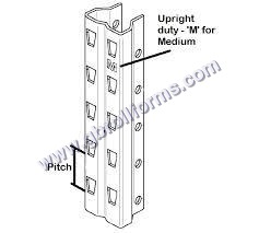 Heavy Rack Upright Section