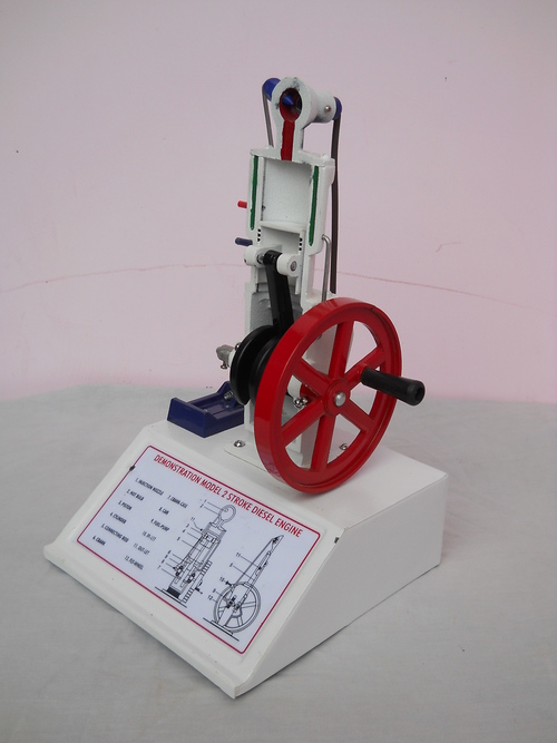 DIESEL ENGINE MODEL TWO STROKE