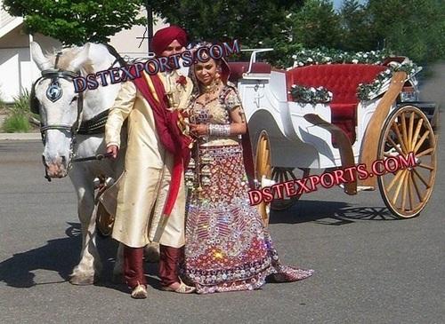 PUNJABI WEDDING HORSE BAGHI