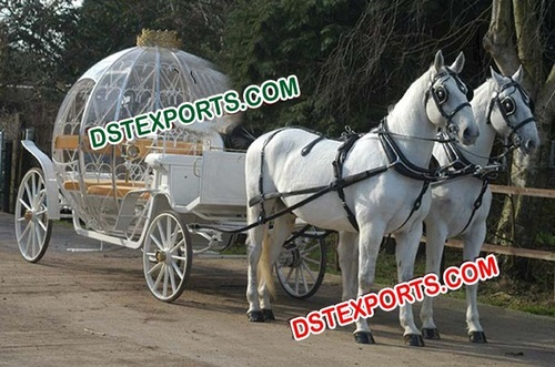 Horse Drawn Cinderella Carriage