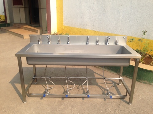 Foot Operated Hand Wash Sink