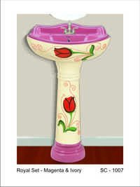 Pedestal Wash Basins