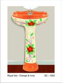 Stricker Pedestal Wash Basin