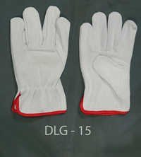 Split Leather Driving Gloves