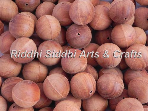 Sandalwood Beads Unpolished