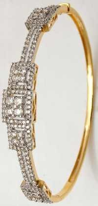 women exclusive designer half bangle